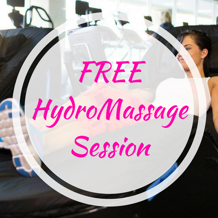 FREE HydroMassage Session!