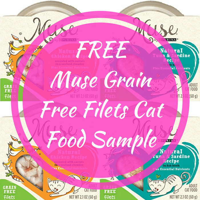 FREE Muse Grain Free Filets Cat Food Sample!
