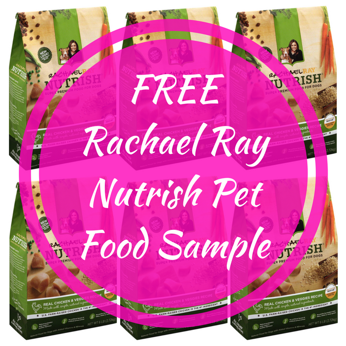 FREE Rachael Ray Nutrish Pet Food Sample!