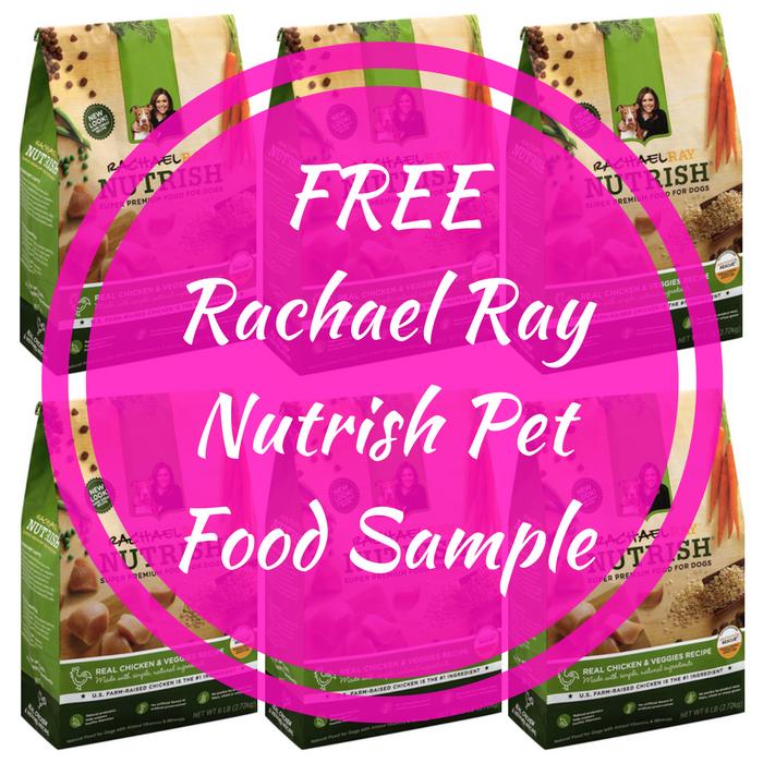 FREE Rachael Ray Nutrish Pet Food Sample!