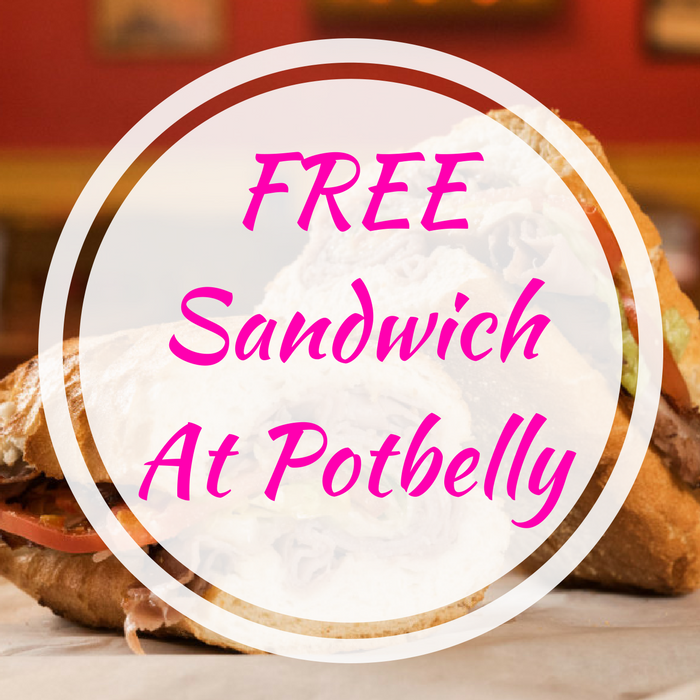 FREE Sandwich At Potbelly!