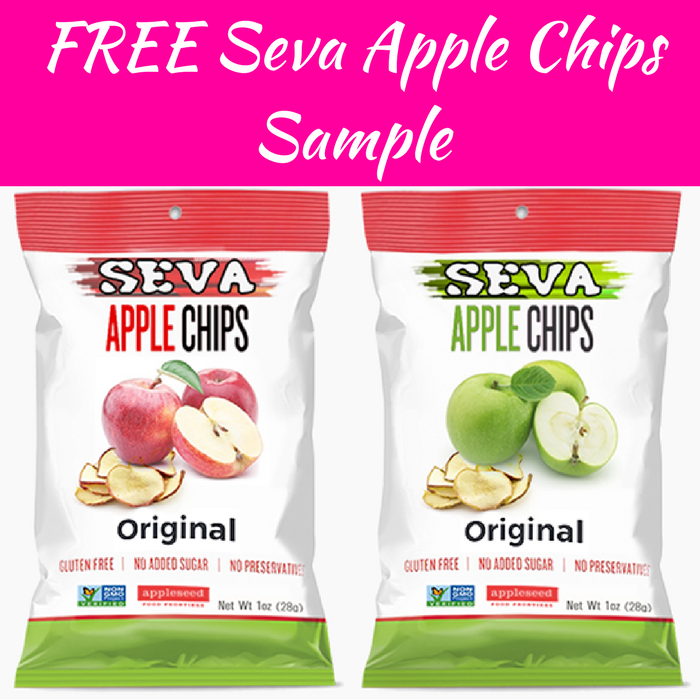 FREE Seva Apple Chips Sample!