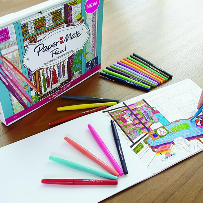 Paper Mate Felt Tip Pens 20-Count