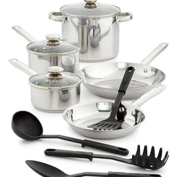 Bella 12-Piece Cookware Set