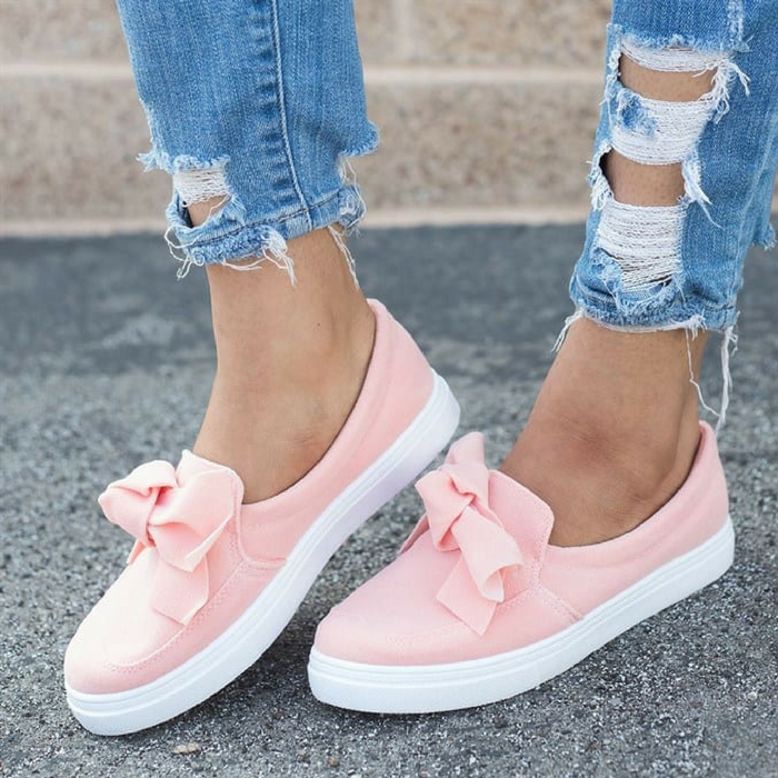 Fashion Knot Style Sneakers