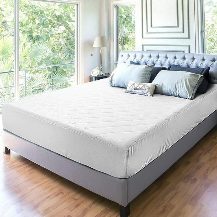 Quilted Fitted Mattress Pad