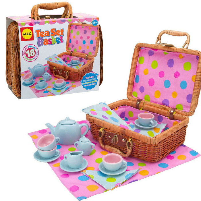 ALEX Toys Tea Set Basket