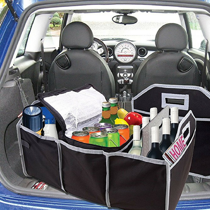 Trunk Organizer And Cooler Bag