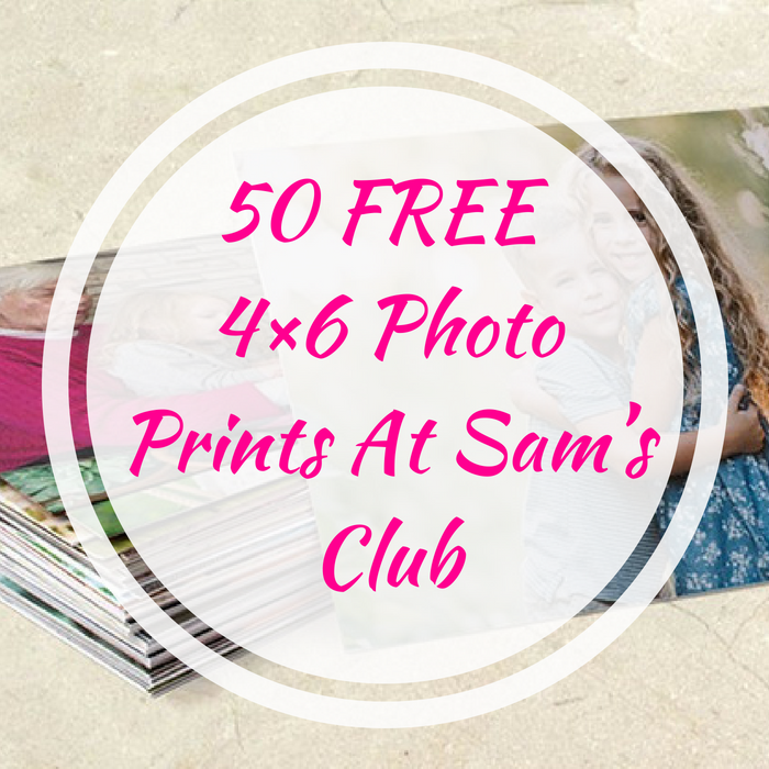 50 FREE 4×6 Photo Prints At Sam's Club!