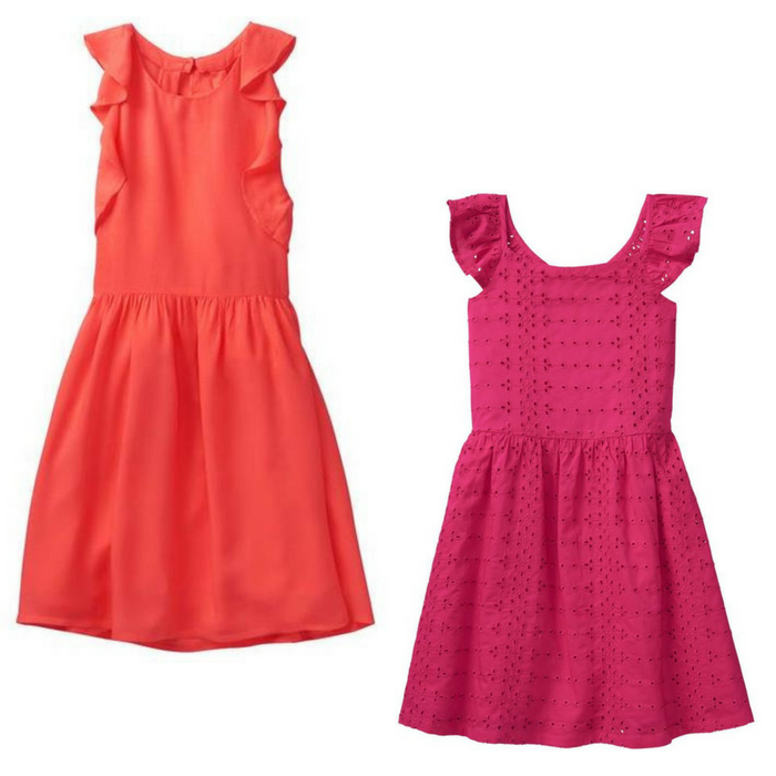 Ruffle Dress At $10.99