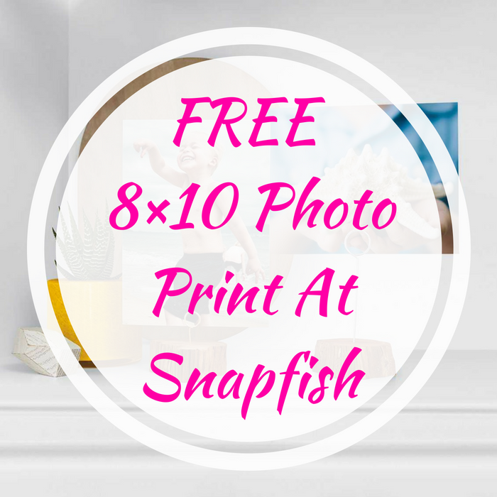 FREE 8×10 Photo Print PLUS FREE Shipping At Snapfish!