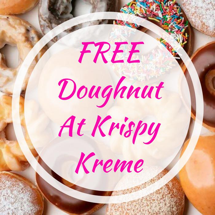 FREE Doughnut At Krispy Kreme!