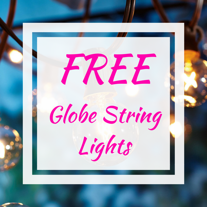FREE Globe String Lights!