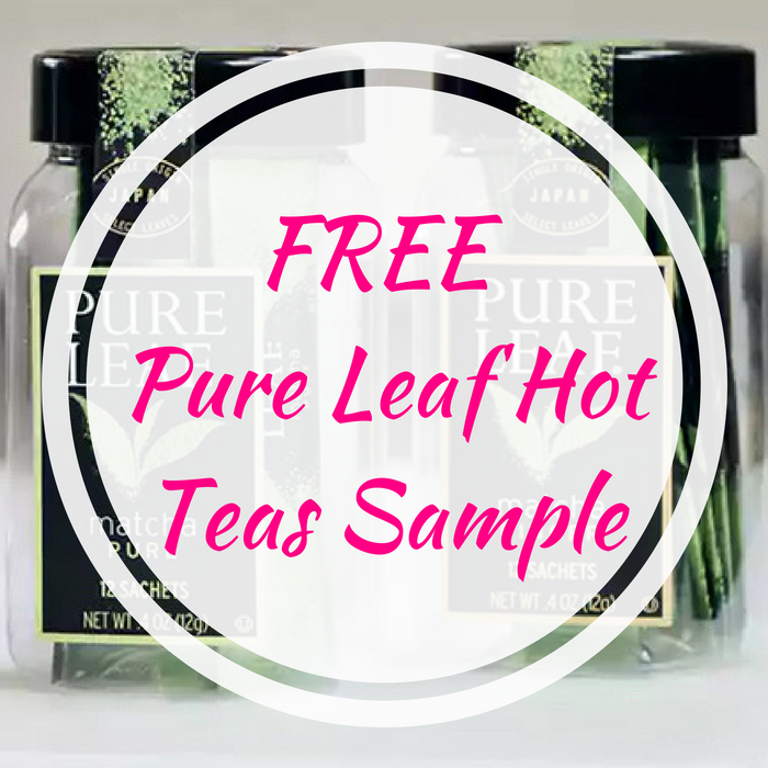 FREE Pure Leaf Hot Teas Sample!