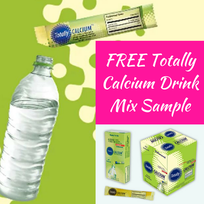 FREE Totally Calcium Drink Mix Sample!