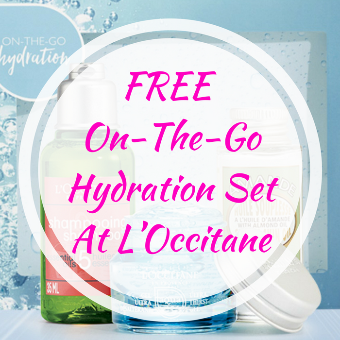 FREE On-The-Go Hydration Set At L'Occitane!