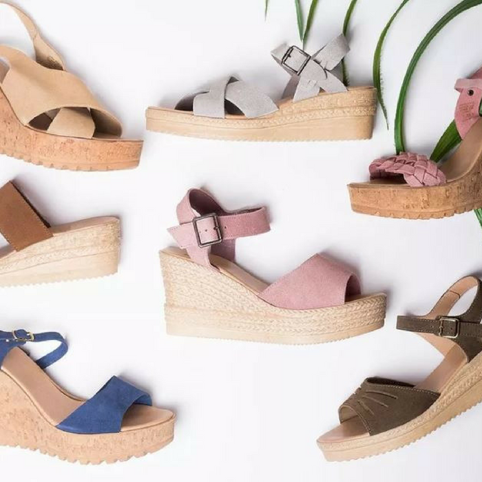Genuine Suede Wedges