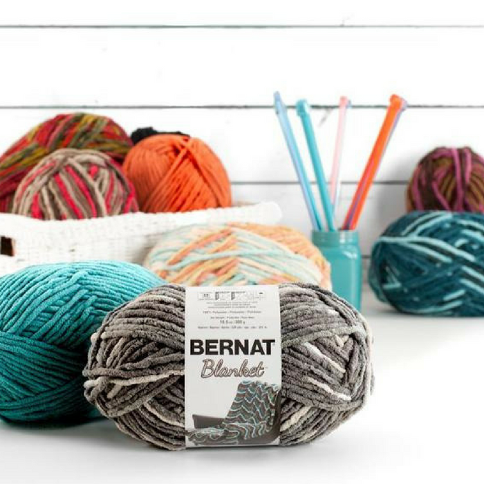 Bernat Blanket and Blanket Brights Yarn