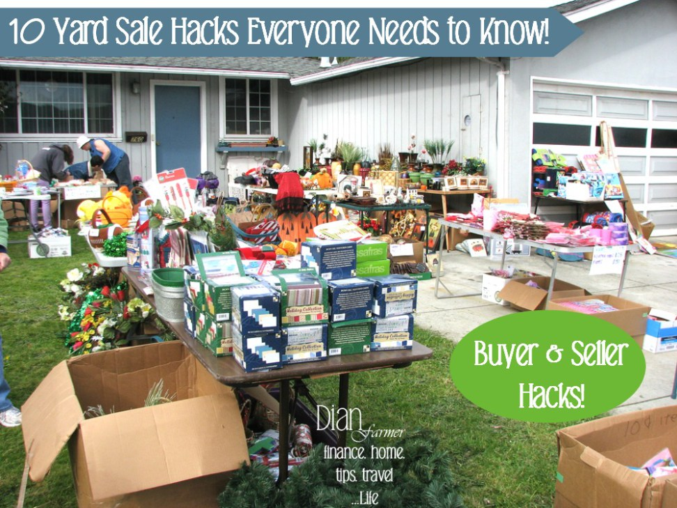 10 Yard Sale Hacks  Everyone Needs To Know!
