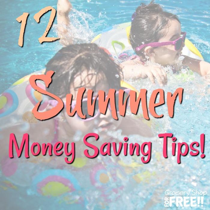 12 Summer Money Saving Tips!