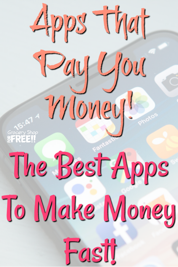 Best money making apps for Android and iphone is a must read.  These are the best apps to make money fast allowing you to make money for Paypal which is my favorite for getting money quickly.  These highest paying apps, include iphone and Android apps that pay YOU money to do almost nothing!  What's better than apps that pay you money?!