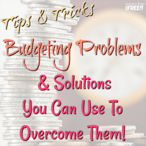 Budgeting Problems And Solutions You Can Use To Overcome Them!