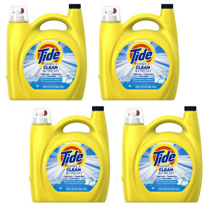 FREE Tide Laundry Detergent!