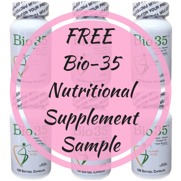 FREE Bio-35 Nutritional Supplement Sample!