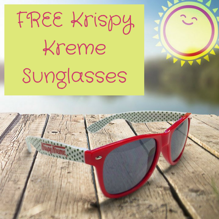 FREE Krispy Kreme Sunglasses With Purchase!