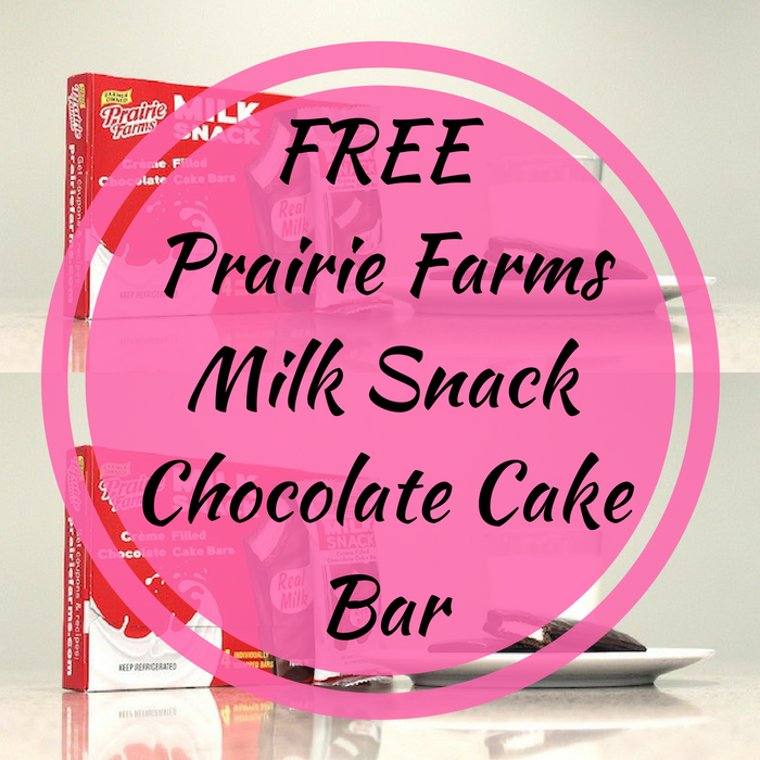 FREE Prairie Farms Milk Snack Chocolate Cake Bar!