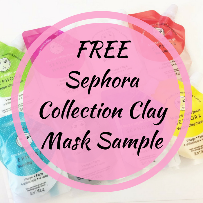 FREE Sample Sephora Collection Clay Mask!