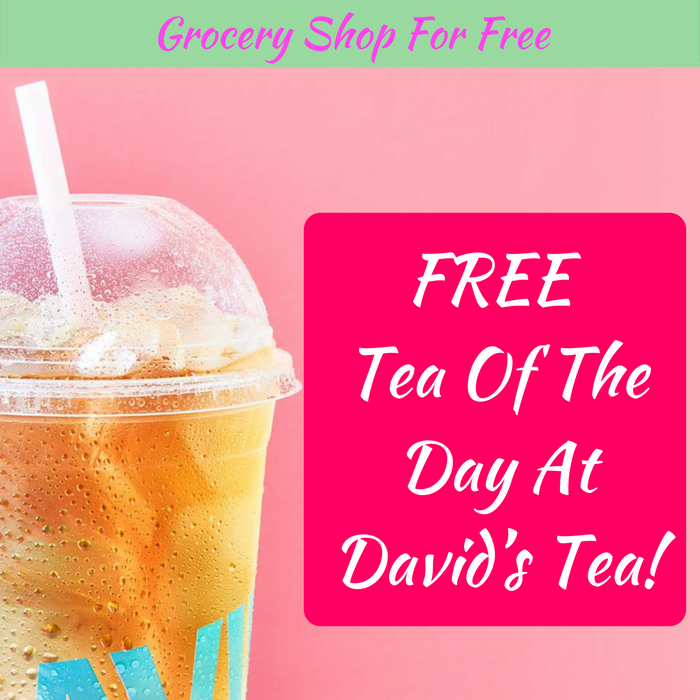 FREE Tea Of The Day At David's Tea!