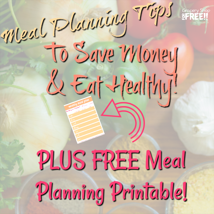 If you're looking to get organized and start meal planning on a budget, we have you covered!  Meal planning doesn't have to be that hard, we have made it easy with this FREE meal planning printable.  You can easily provide quick, healthy, budget friendly meals for your family with just a little prep work.  Get started here.
