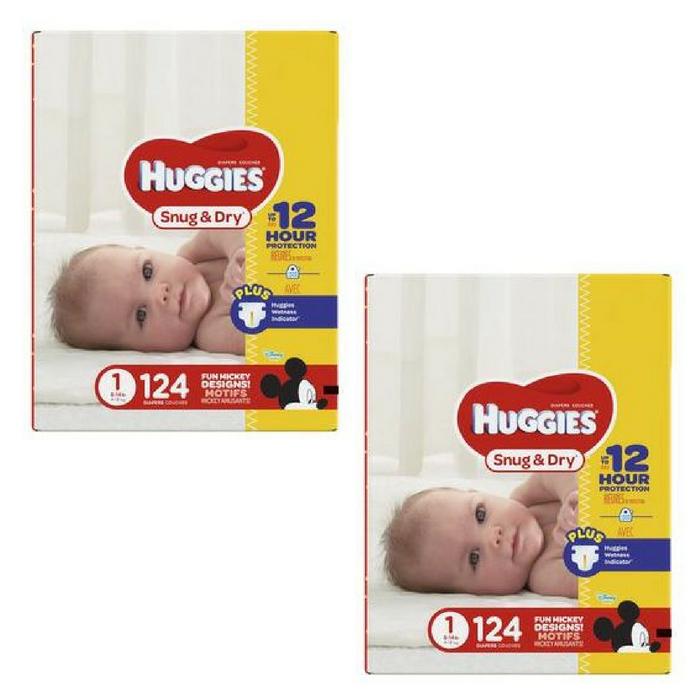 FREE Huggies Diapers!
