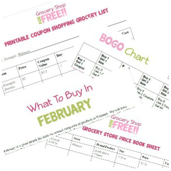 Printable Couponing Packet