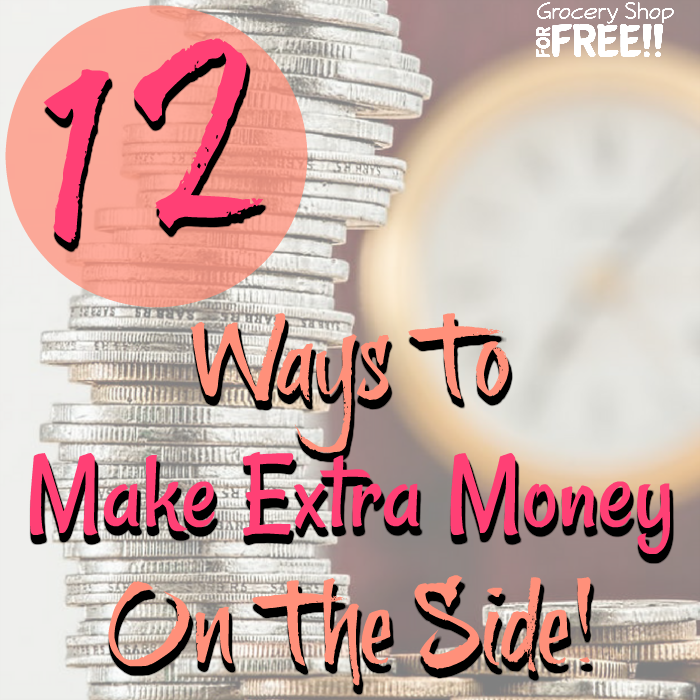 Want to know how to make extra money on the side or how to make extra money from home?  These 12 ways to make extra income are some of the best ways for you to earn cash now!