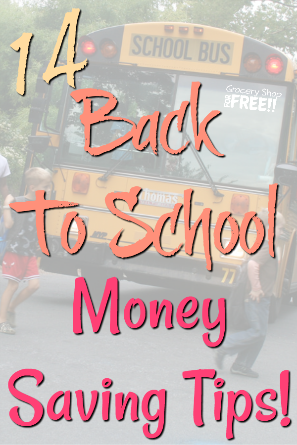 Every year as summer comes to a close we start thinking about the kids going back to school and all of the back to school supplies they'll need.  This 14 tips will help you get organized and make the most out of it for the least amount of money.
