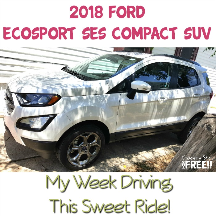 2018 Ford EcoSport: My Week Driving This Sweet Ride!