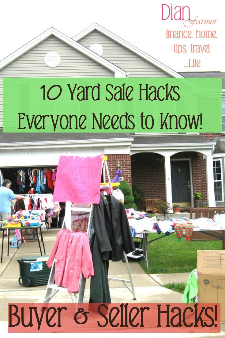 10 Yard Sale Hacks Everyone Needs To Know