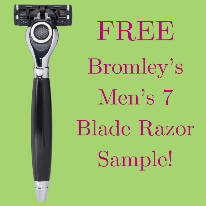 FREE Bromley's Men's 7 Blade Razor Sample!