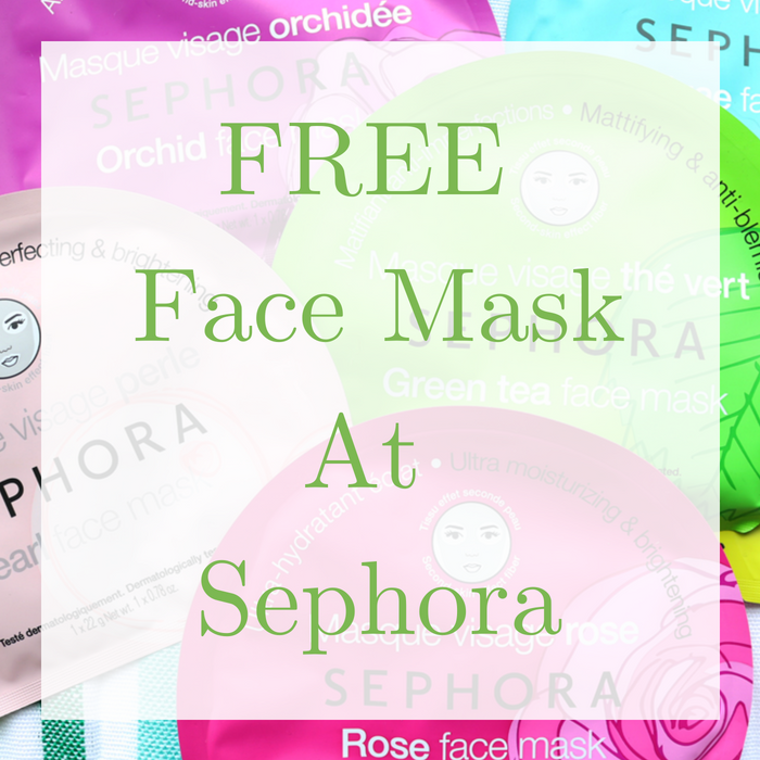FREE Face Mask At Sephora!