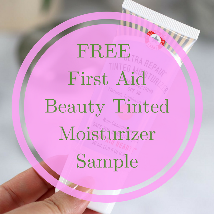 FREE First Aid Beauty Tinted Moisturizer Sample!