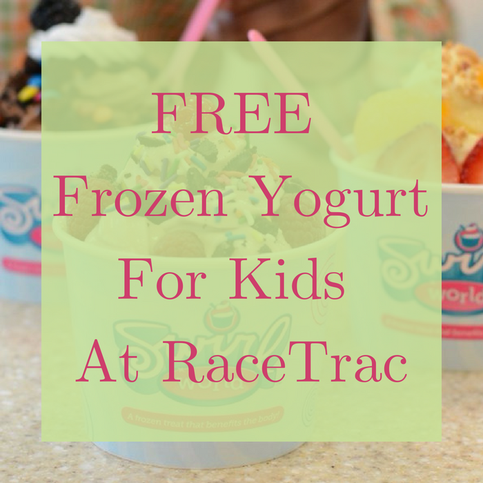 FREE Frozen Yogurt For Kids At RaceTrac!