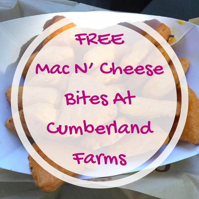 FREE Mac N' Cheese Bites At Cumberland Farms!