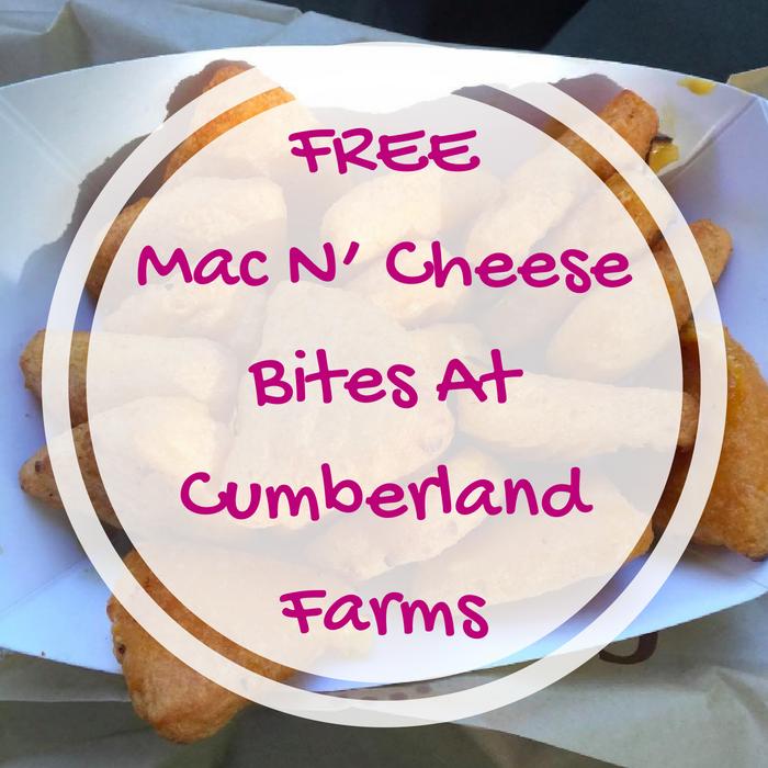FREE Mac N' Cheese Bites At Cumberland Farms!