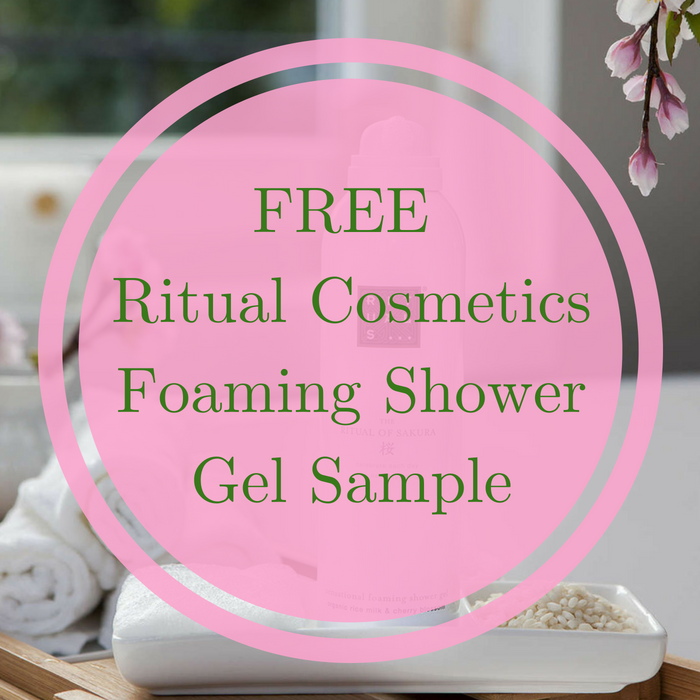 FREE Ritual Cosmetics Foaming Shower Gel Sample!