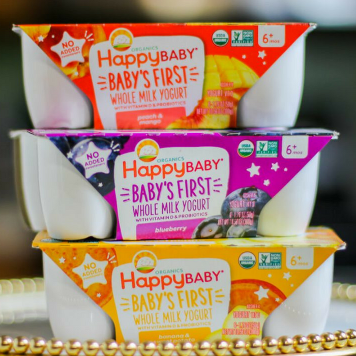 Happy Baby Organics Yogurt