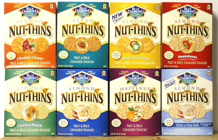 Healthy And Delicious Snack On-The-Go: Blue Diamond®Nut-Thins!