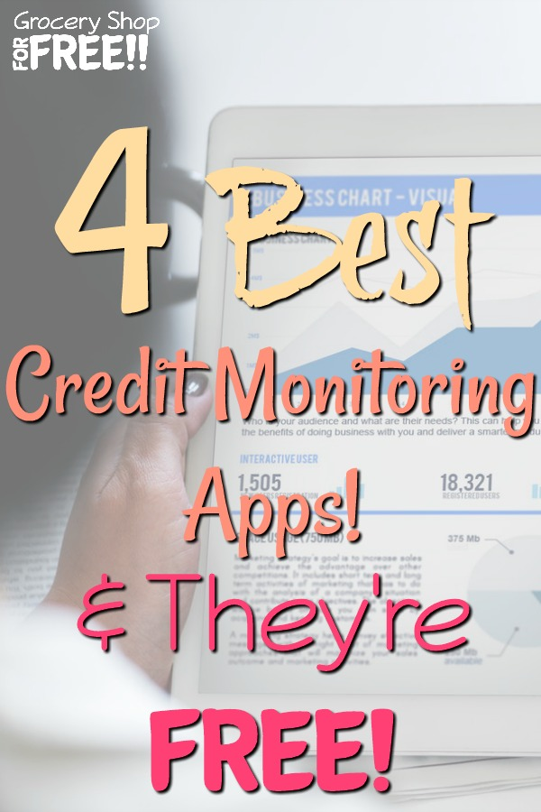 It's important to monitor your credit report for many reasons.  Here are 4 of the best Credit Monitoring Apps we have found and they are all FREE!  Start monitoring your credit now, good or bad, it's important to be on top of it.