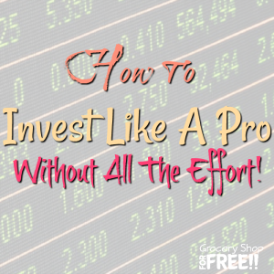 How To Invest Money Like A Pro Without All The Effort!
